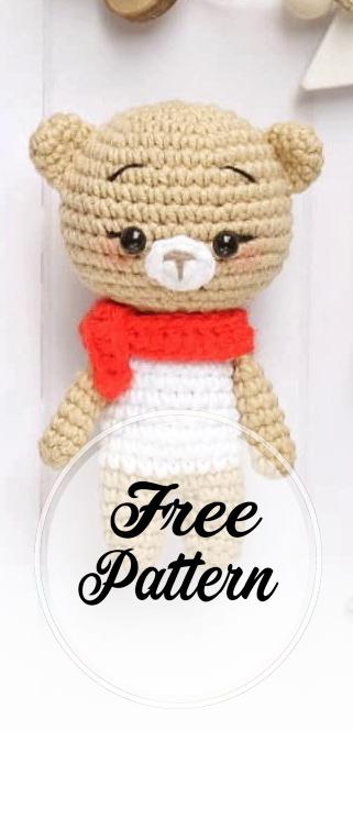 Amigurumi red panda pattern. Amigurumi pattern. Crochet pattern ... | 746x321