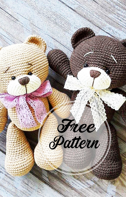 Amigurumi Panda. (Free pattern but needs translating). | Patrones ... | 768x492