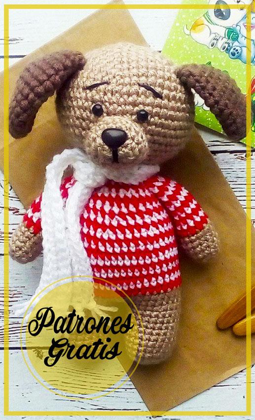 Perro Barbos Amigurumi Patrón Gratis
