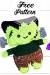 Frankenstein Monstruo Amigurumi Patrones Gratis