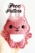 Patrón de ganchillo gratis Pocket Bunny Amigurumi