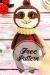 Amigurumi perezoso patrón de ganchillo gratis y pagado