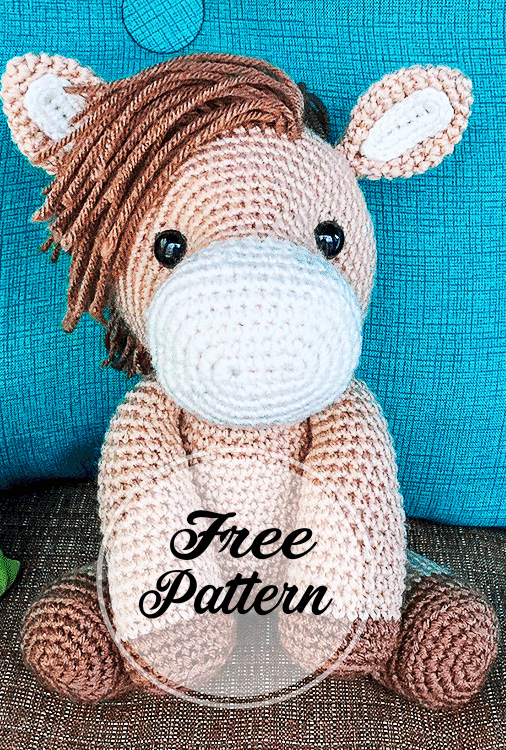 Small Zebra amigurumi pattern - Amigurumipatterns.net | 750x506