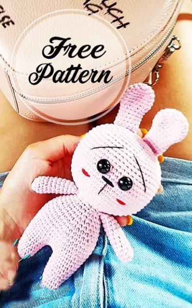 crochet-lindo-conejito-rosa-amigurumi-patron-libre