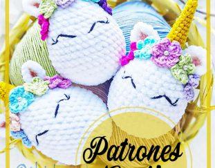 Patrón de crochet / Amigurumi Muñeca Unicornio Candy y Mint   Etsy   243x311