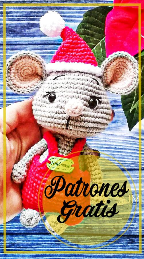 Venya el ratón Amigurumi Patrones Gratis