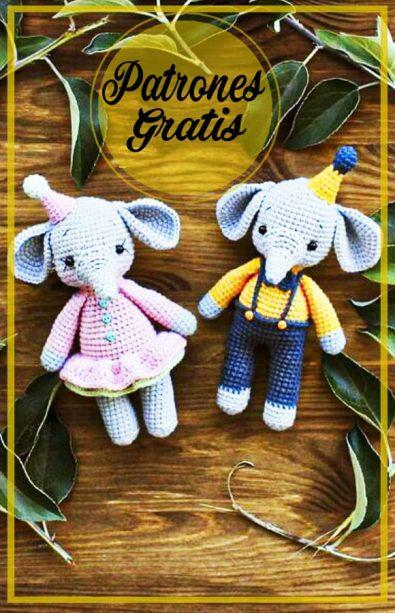 amigurumi-elefantes-tejer-patron-libre-de-ganchillo