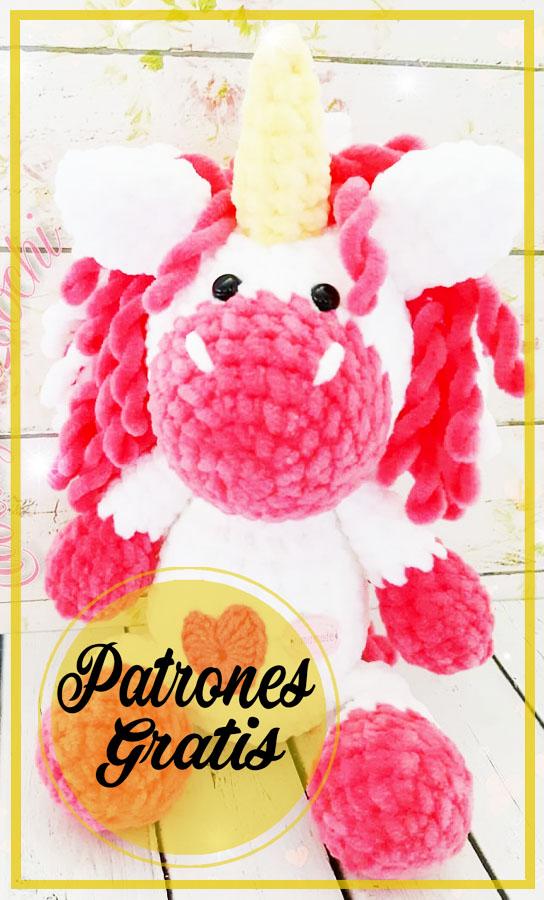 Bebé Unicornio Amigurumi Patrón Gratis