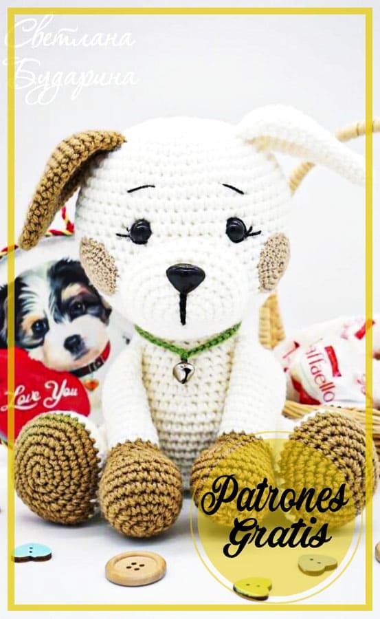 Perro Amigurumi Cachorro patrón Gratis