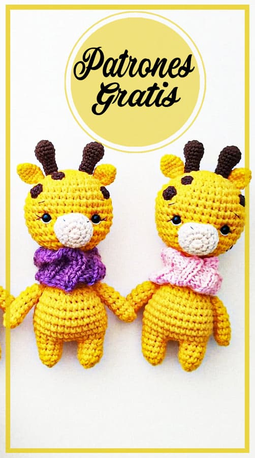 Poco Jirafa amigurumis jirafa patrones gratis