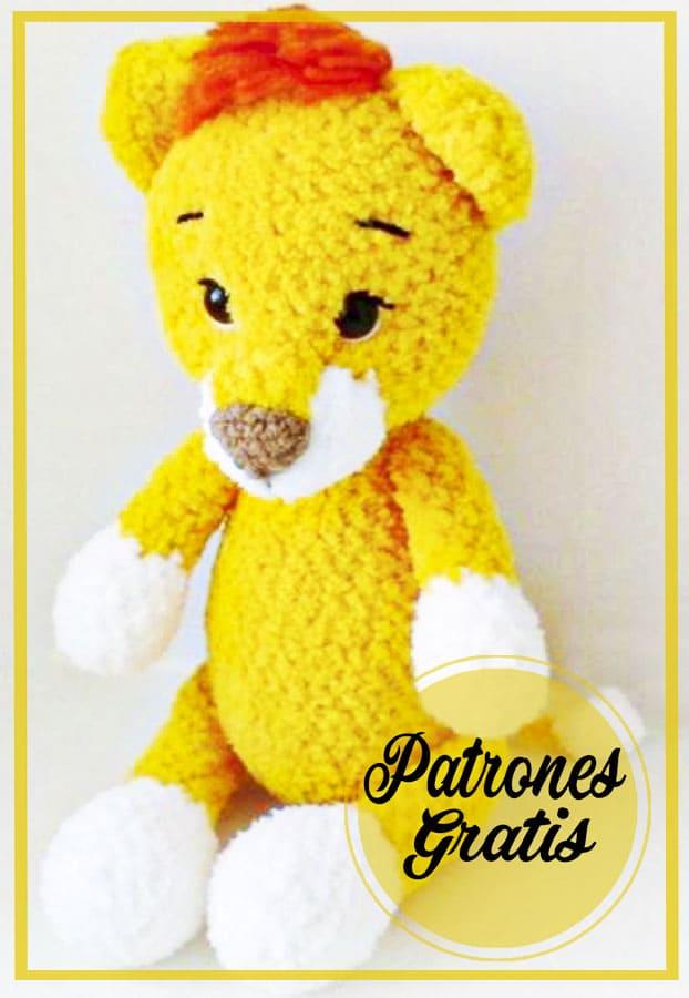 Bebé León Amigurumis Patrones Gratis