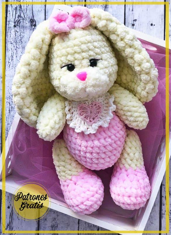 Conejo Amigurumi Patrón de Ganchillo Gratis