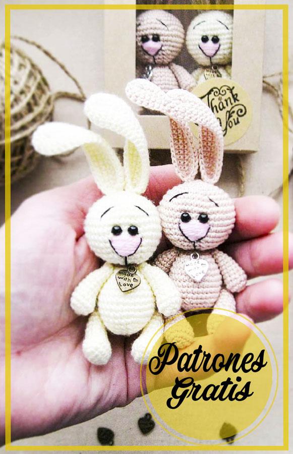 Lindo Conejo amigurumi patrón de ganchillo gratis