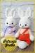 Lindo Conejo grande Amigurumi Patrón Gratis