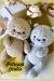 Gatos impresionantes Amigurumi Patrón Gratis