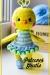 Chica amarilla patrón amigurumi gratis