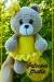 Gran oso de peluche suave Amigurumi patrón gratis
