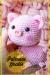 Pequeño Cerdito rosado amigurumi patrón gratis