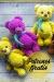 Lindo oso de peluche hermoso amigurumi patrón gratis