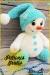 Gran Muñeco de Nieve Amigurumi Patrón Gratis