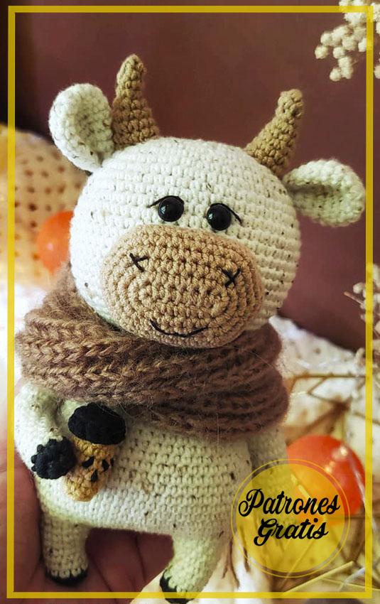 Willy el toro amigurumi patrón gratis