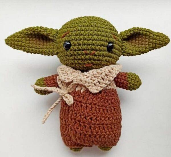 Star Wars Bebé Yoda Amigurumi Patrón Gratis